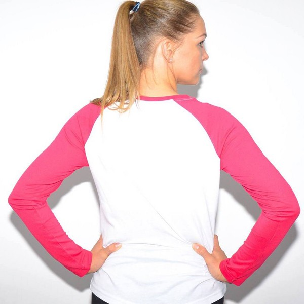 pink/white baseball sweat