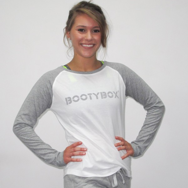 grey/white baseball sweat