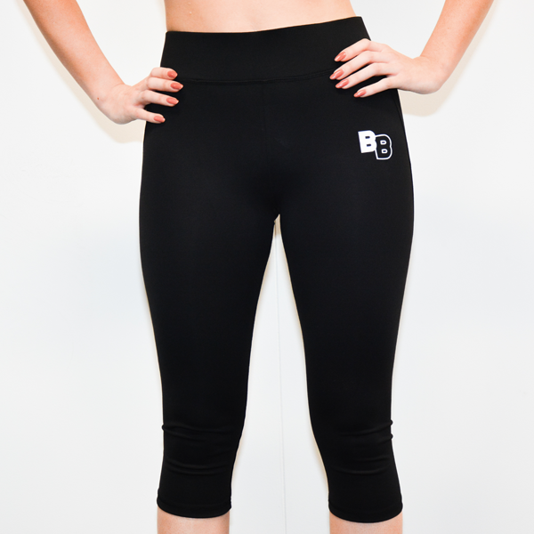 lycra leggins 3/4 length